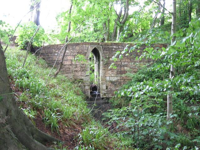 Footbridge at Hartburn