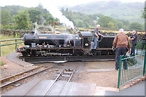 NY1700 : River Esk on turntable at Dalegarth by John Firth
