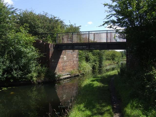 Wyrley & Essington Canal - Bentley Wharf Bridge