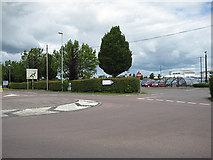 SO9524 : Exit from Park & Ride by Pauline E