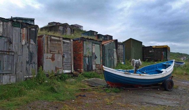 Skinningrove shacks