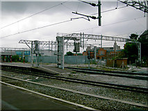 SJ8989 : Southern end of Stockport Station by Slbs