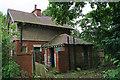 NZ1881 : Disused lodge by Helen Wilkinson