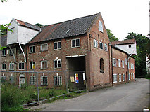 TG1927 : Millgate Mill - two of the three lucums by Evelyn Simak