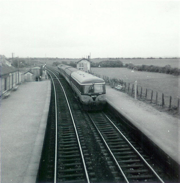 Railcar at Laytown, Co. Meath