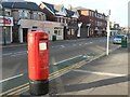 SZ1192 : Boscombe: postbox № BH7 56, Christchurch Road by Chris Downer