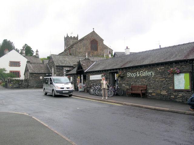 Hawkshead Parish Church above Gallery