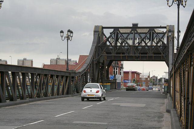 Corporation Bridge looking east