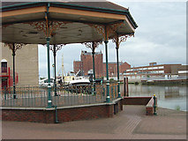 TA2609 : Bandstand by Alan Murray-Rust