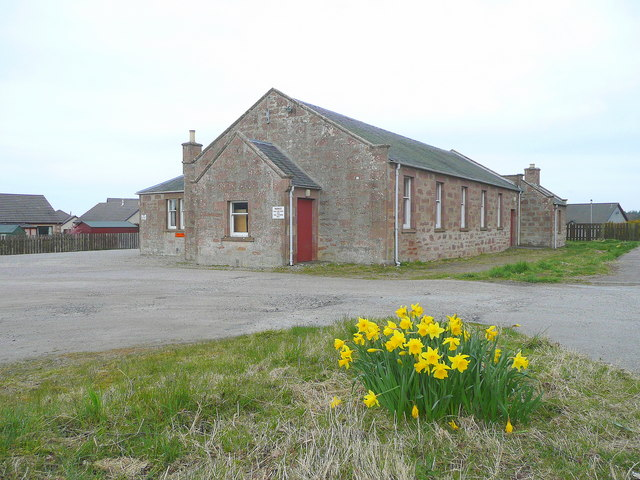 Croy village hall by Jonathan Billinger