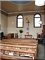 TG1927 : Aylsham Methodist Church - interior by Evelyn Simak