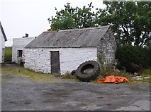 G9165 : Farm Building at Garvanagh by Kenneth  Allen
