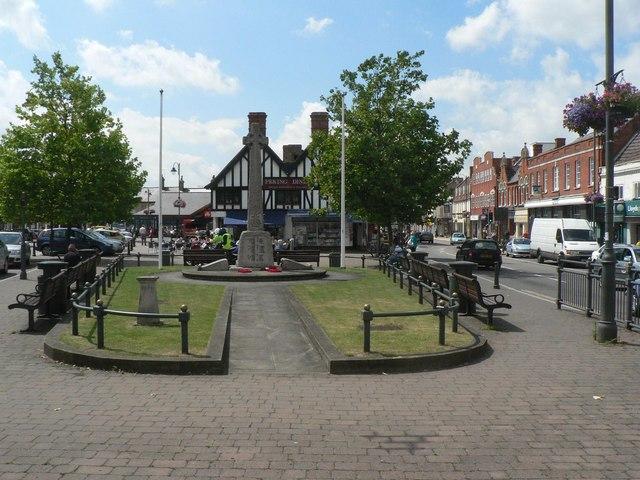 Biggleswade: town centre