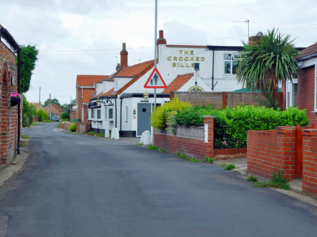 Pitt Lane and the Crooked Billet