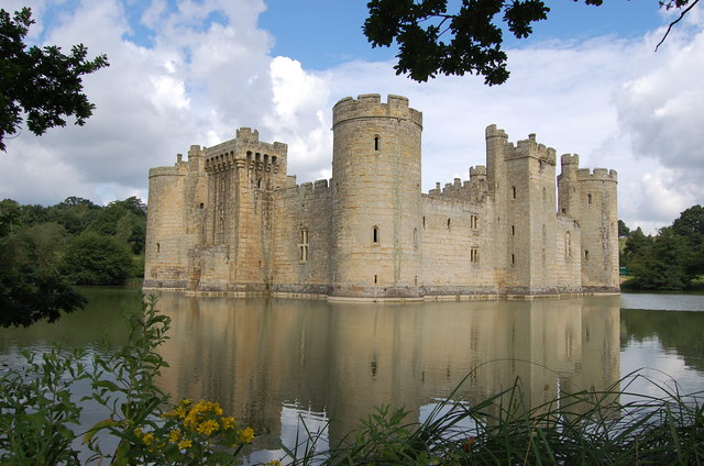 Bodiam Castle from south east