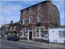 SY6878 : The George Inn, Custom House Quay by Nick Mutton