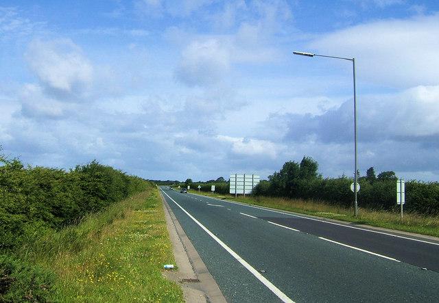 A19 near Easingwold