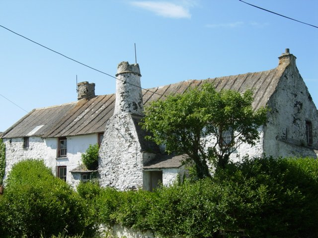 Rhosson Uchaf Farm, on the lane to St Justinian's, West of St David's / Tyddewi