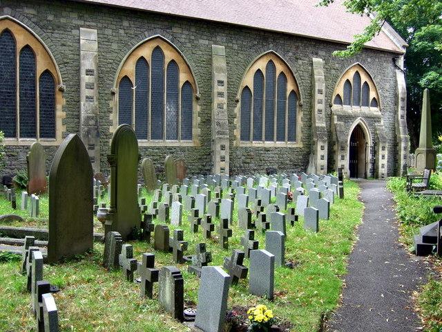 Fishponds churchyard