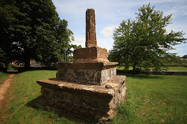 Old Preaching Cross in St Martin's Churchyard - Cheselbourne