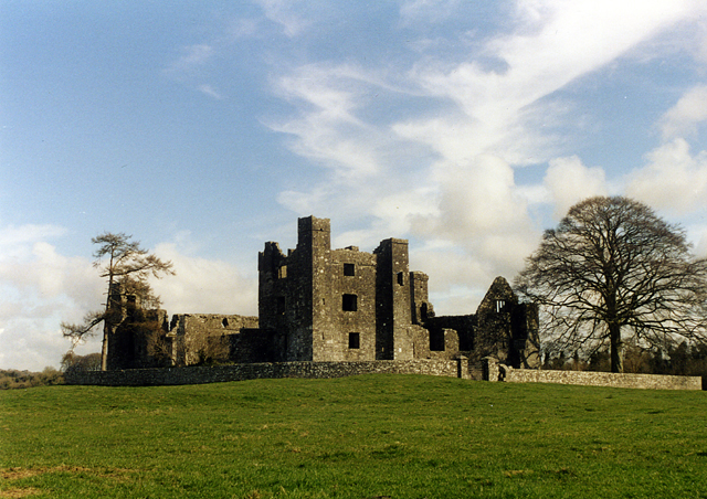 The ruins of Bective Abbey