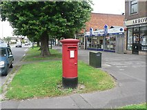 SZ0995 : Muscliff: postbox № BH9 278, Castle Lane West by Chris Downer