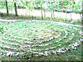 SD9771 : Labyrinth in Crookacre Wood by Stephen Craven