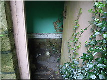 ST5295 : Piercefield House - Gardeners House (outside toilet) by Nick Mutton