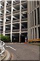 NZ2564 : Manors Car Park by Peter McDermott
