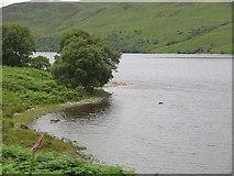 NC3435 : Shore of Loch More by Richard Webb