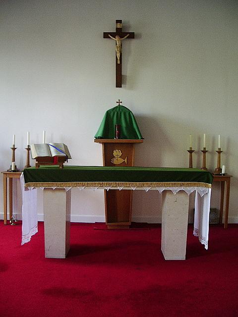 St Joseph's Catholic Church, Kirkby Lonsdale, Altar