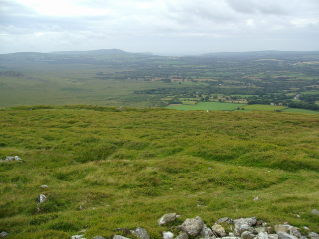 View from Foel Drygarn towards Dinas Head