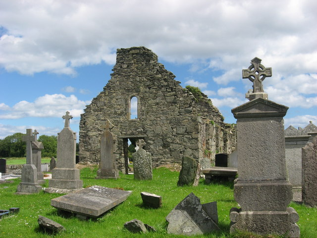 Church ruins at Clonmore, Co. Louth