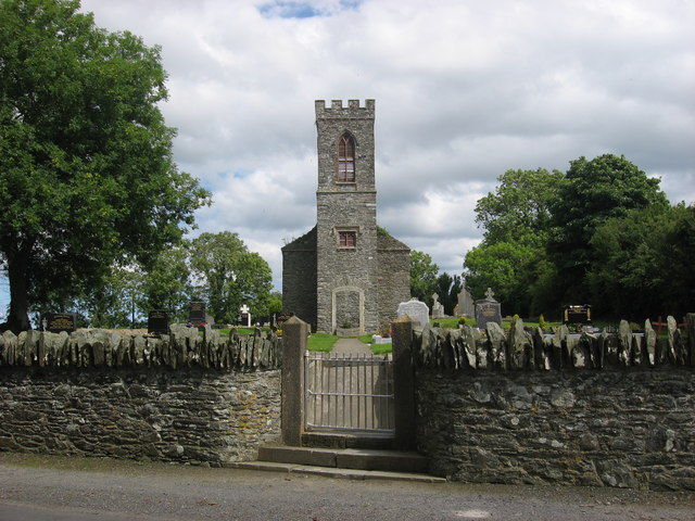 Church at Rathdrumin, Co. Louth