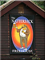 TG0321 : The Natterjack - pub sign by Evelyn Simak