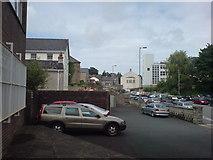 SM9515 : Behind High Street by Deborah Tilley