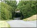 SK9141 : Low Bridge carrying the main East Coast line by David Harris