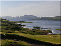 NM5548 : View of the Sound of Mull from near Arle, Mull by Wendy Kirkwood