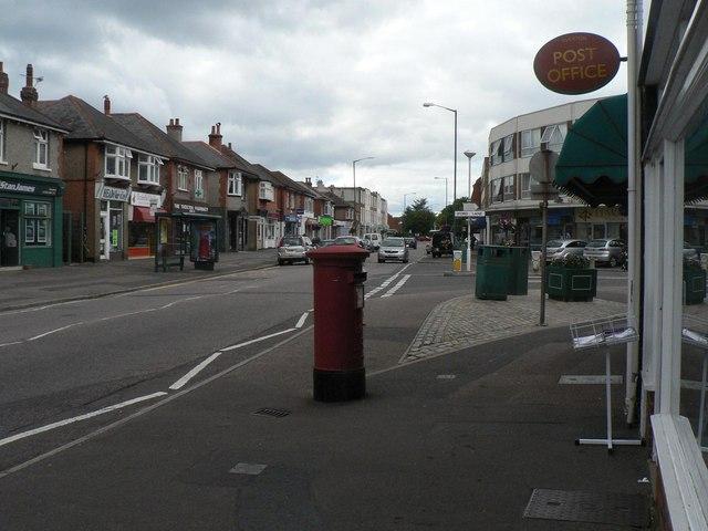 Tuckton: postbox № BH6 191, Tuckton Road