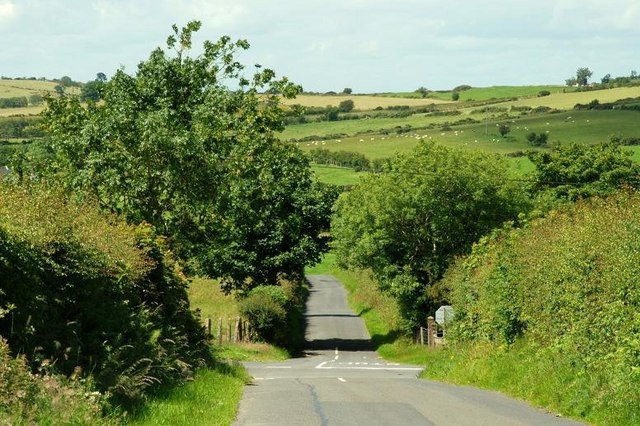 Crossroads near Moneyslane