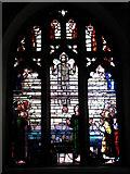 TG1022 : St Michael's church - east window by Evelyn Simak