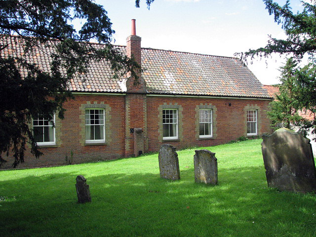 The former Hackford - Whitwell Parochial Schools