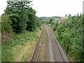SJ3074 : The Disused Burton Point Railway Station. by David Quinn