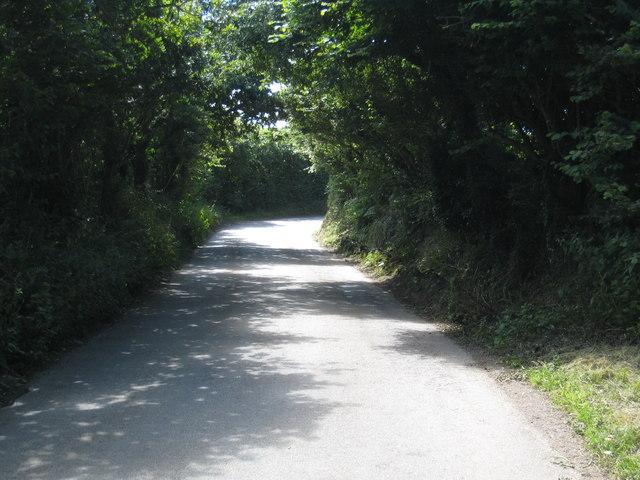 Lane at Carwythenack
