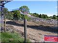 NZ3066 : The old Burn Bridge has now gone by Mac McCarron