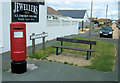 TQ4100 : Slindon Avenue with Gracie Fields Seat, Peacehaven by Kevin Gordon