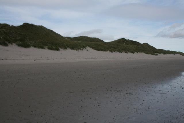 Sand dunes - Ackergill Links