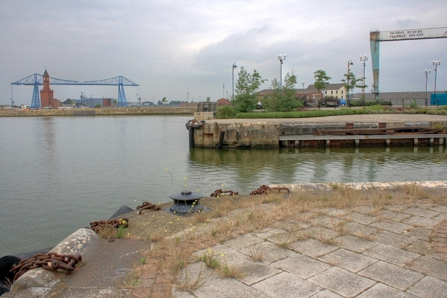 Entrance to Middlesbrough Docks
