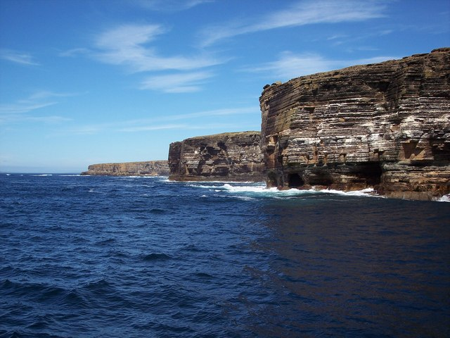 Western cliffs of Stroma