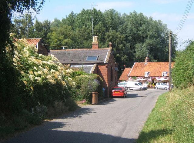 Newbourne village scene